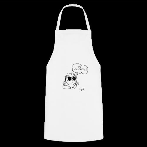Pupy: I love my mummy! - girl - Grembiule da cucina