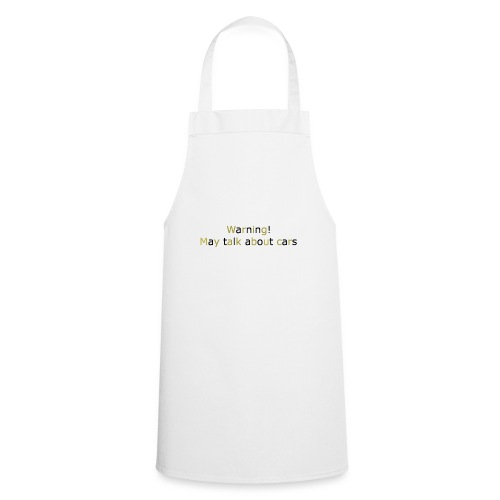 may talk cars - Cooking Apron