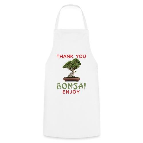 Dziękuję Ci Bonsai - Fartuch kuchenny