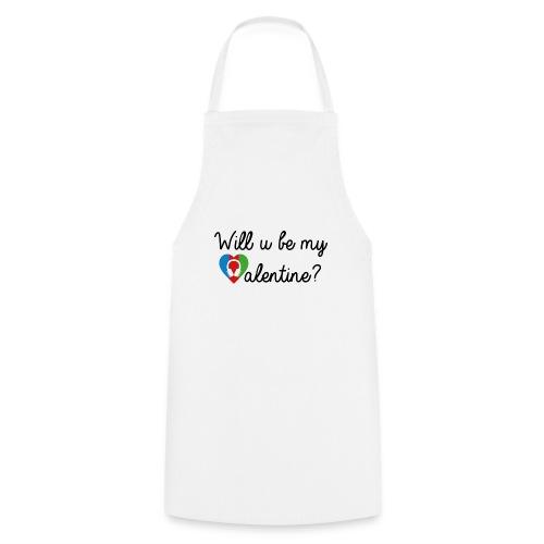 Valentine blk - Kochschürze