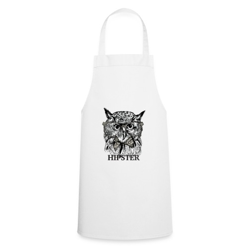 Hibou Hipster - Tablier de cuisine