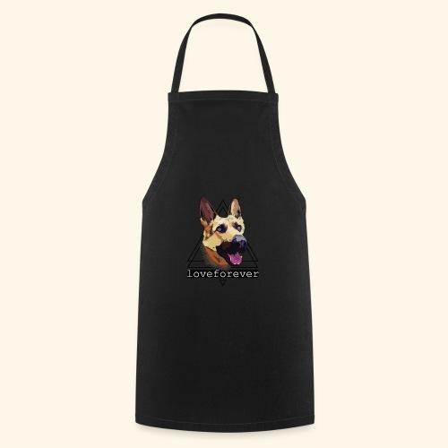 SHEPHERD LOVE FOREVER - Delantal de cocina