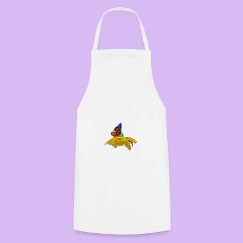 Farfalla su corolla - Grembiule da cucina