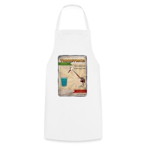 Trinkstroch Retro Vintage - Kochschürze