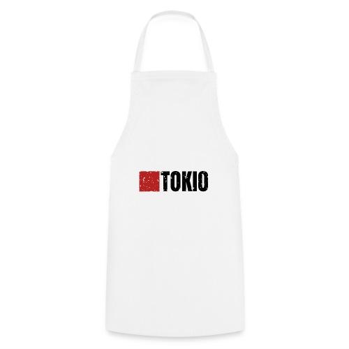 00160 Casa Papel Tokio negro - Delantal de cocina