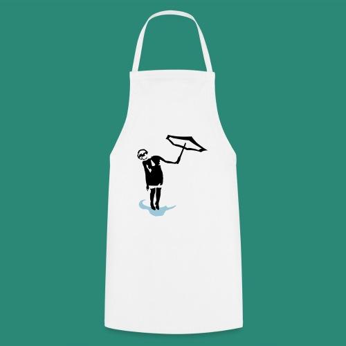 Regenschirmfrau - Kochschürze