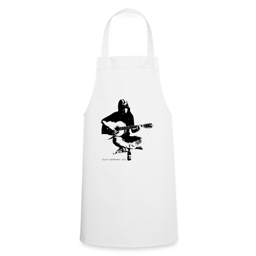 Cynthia Janes guitar BLACK - Cooking Apron