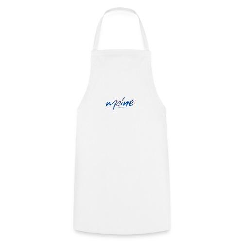 Meine Logo Blau - Kochschürze