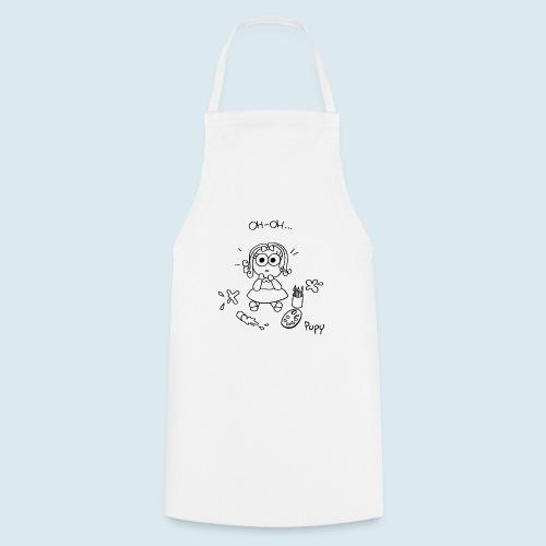 Pupy: oh-oh... - girl - Grembiule da cucina