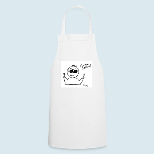Pupy: gnam gnam! - boy - Grembiule da cucina