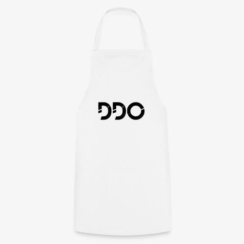 DDO in het zwart. - Keukenschort