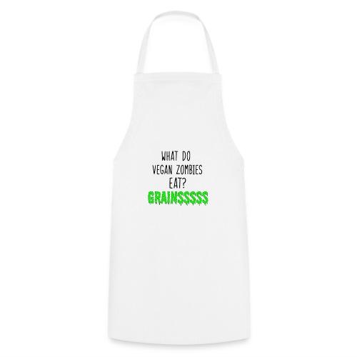 vegan zombie - Cooking Apron