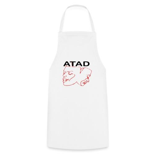 Rotes Logo mit ATAD Schriftzug - Kochschürze