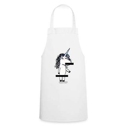 unicorno Censored - Grembiule da cucina