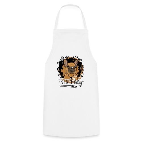 French Bulldog bunt - Kochschürze