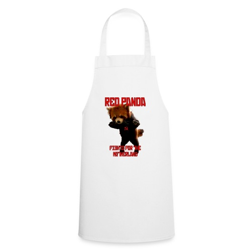 Red Panda Fights For The Motherland - Cooking Apron