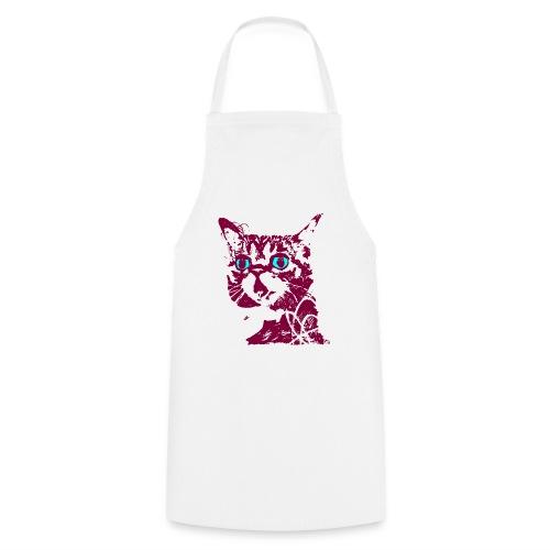 chat violet - Tablier de cuisine