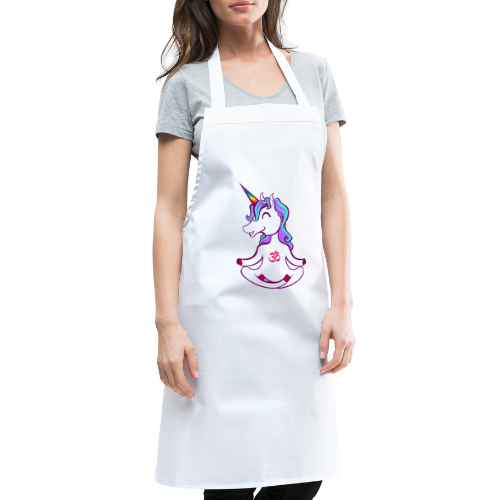 Unicorn meditation - Cooking Apron