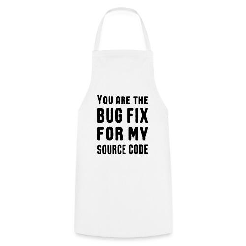 Programmierer Beziehung Liebe Source Code Spruch - Kochschürze