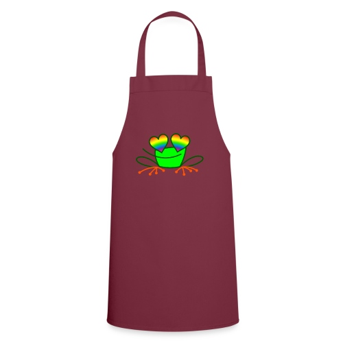 Pride Frog in Love - Cooking Apron