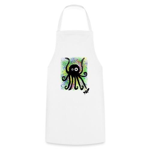 Sweet Octopus by BlackenedMoonArts, with logo - Forklæde
