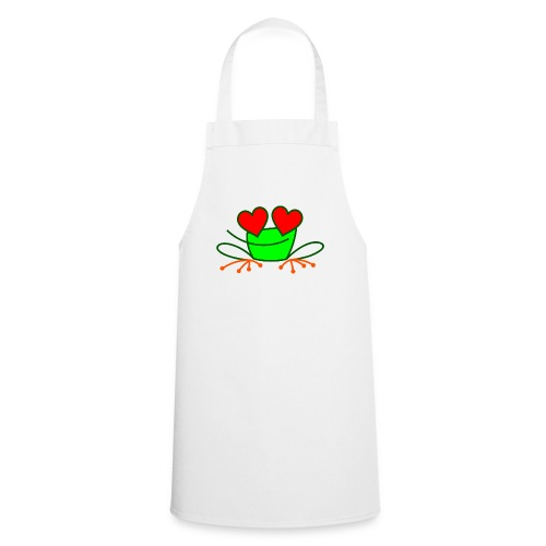 Frog in Love - Cooking Apron