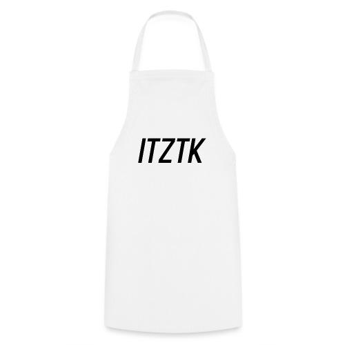 ItzTk black print - Cooking Apron