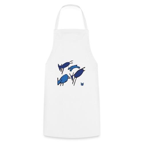 blue sheep - Grembiule da cucina