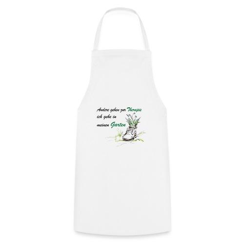 Therapie garten shirt - Kochschürze