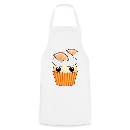 muffins apelsin orange med klyftor - Förkläde