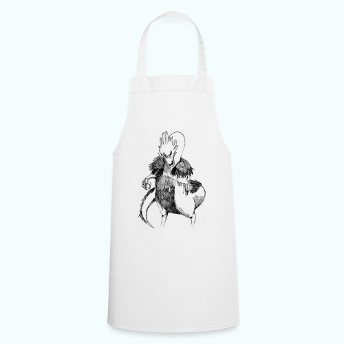 DRAGON STYLE real drawing - Cooking Apron