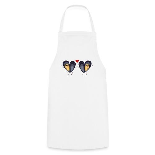 Les deux petites moules amoureuses - Tablier de cuisine