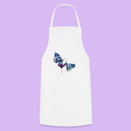 Coppia di farfalle - Grembiule da cucina
