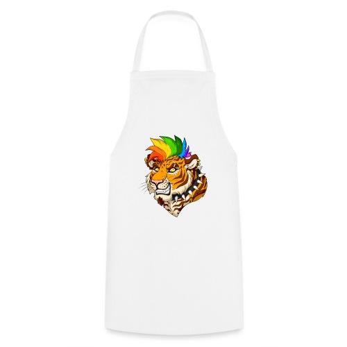 Punk Tiger - Fartuch kuchenny
