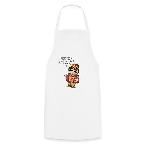 Hutbürger tragen Button - Kochschürze