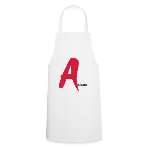 Big Red A Atheism Logo - Cooking Apron