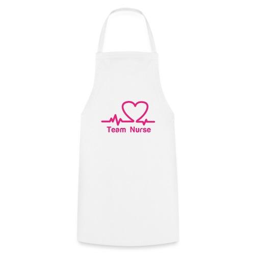 logo team nurse - Tablier de cuisine