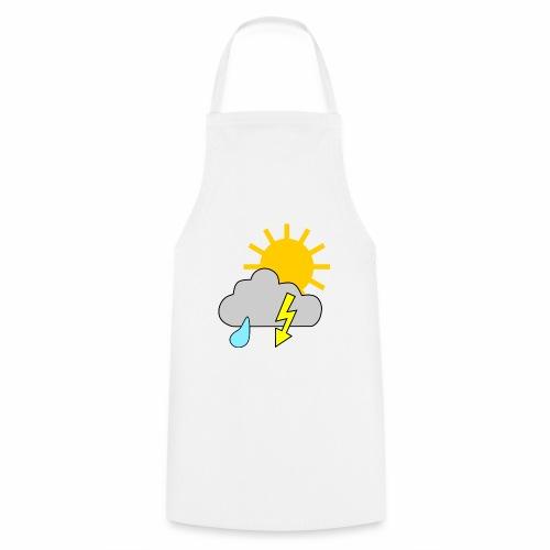 Sun - rain - thunderstorm - Cooking Apron
