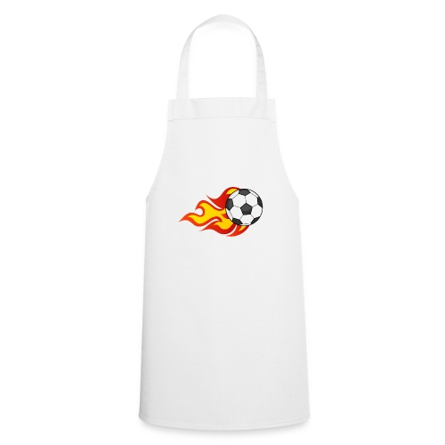 Flaming Football - Cooking Apron