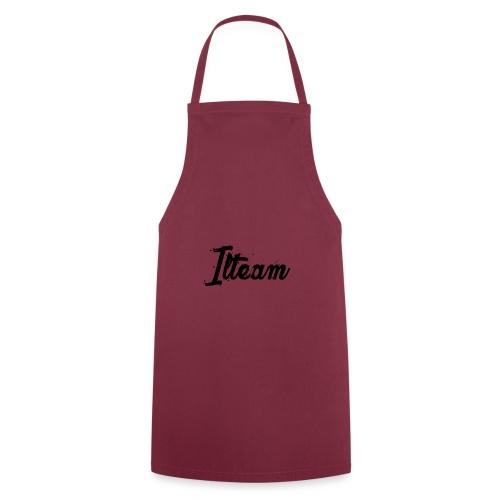 Ilteam Black and White - Tablier de cuisine