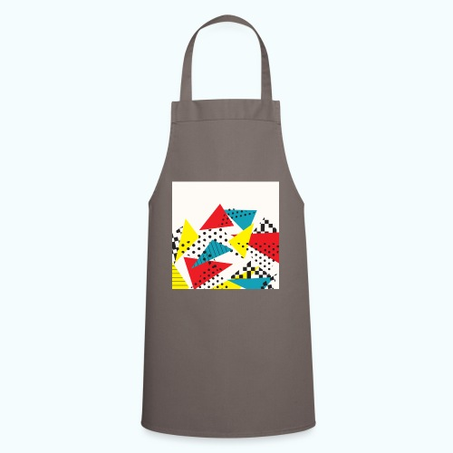 Abstract vintage collage - Cooking Apron