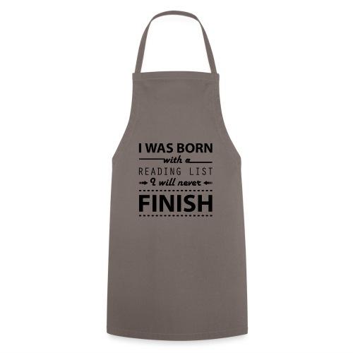 0191 Leseliste | Buch | Buchliebhaber | Bücher - Cooking Apron