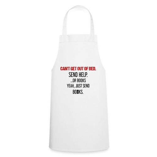 0278 books | Funny | Yeah | Bookrebels | Read - Cooking Apron