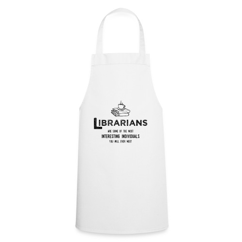 0335 Librarian Cool story Funny Funny - Cooking Apron