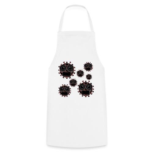 virus eseguire coronavirus covid19 allarme virus - Grembiule da cucina
