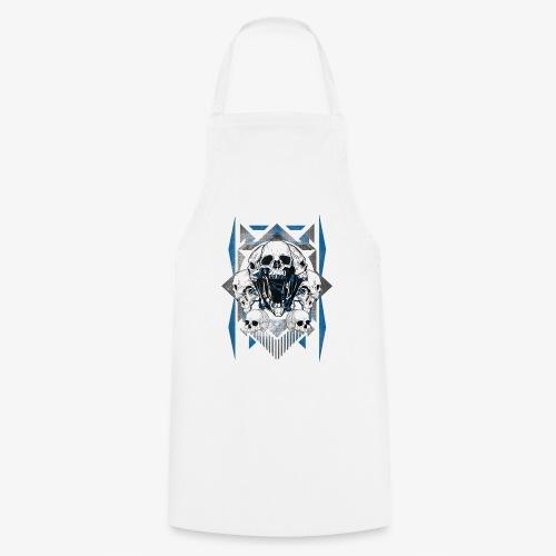 T-shirt de crâne Jual Kaos Hipster - Tablier de cuisine