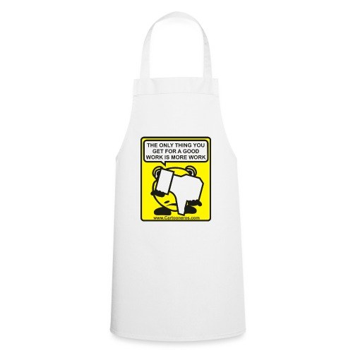 Good Work More Work - Cooking Apron