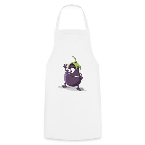 Aubergine - Kochschürze
