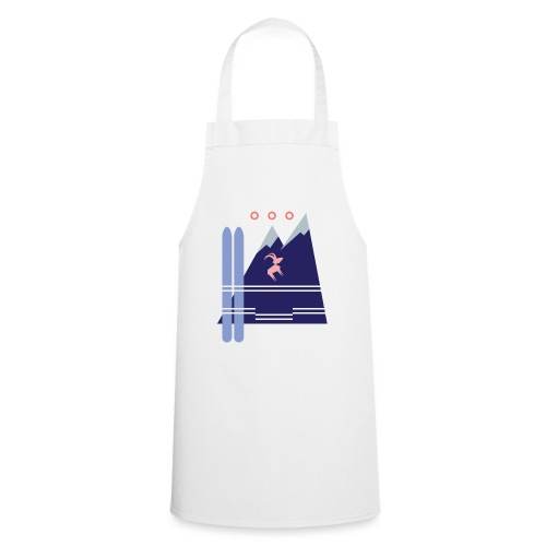 Shirt Motiv Mellau Damüls - Kochschürze