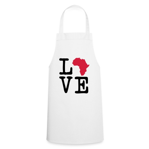 I Love Africa, I Heart Africa - Cooking Apron